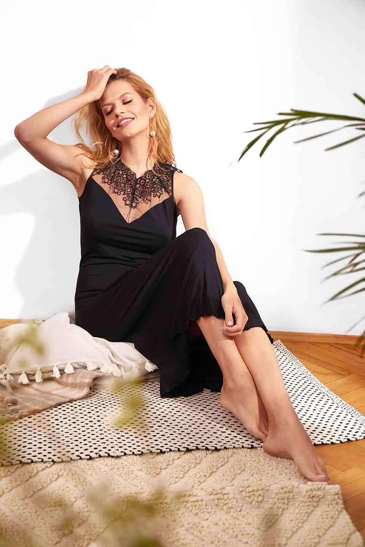 Gorgeous / 3125 Camicia da notte<br />01 Ivory, 02 Black