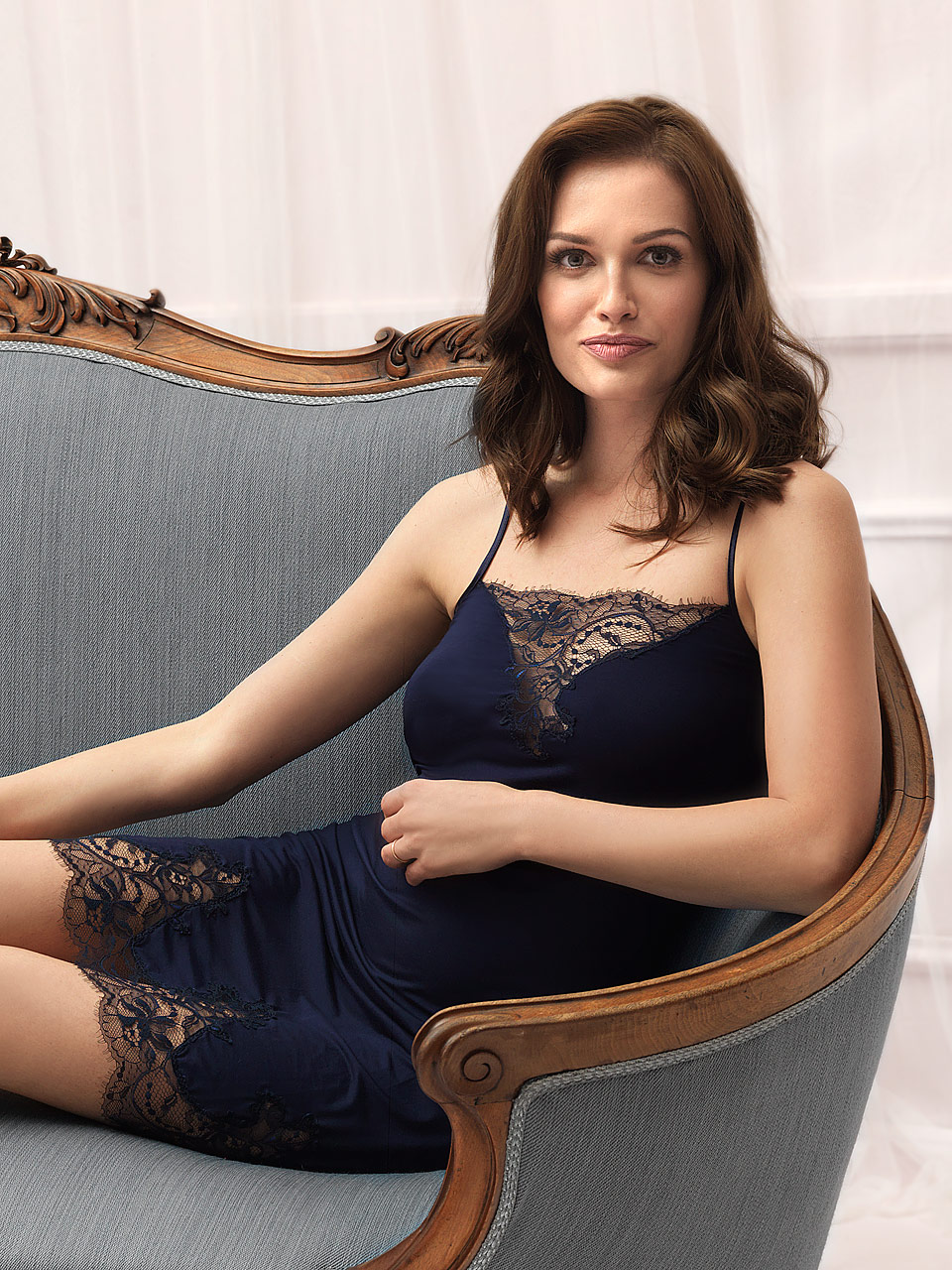 FD /  Frost 2819 Chemise<br />01 Ivory, 03 Navy Blue
