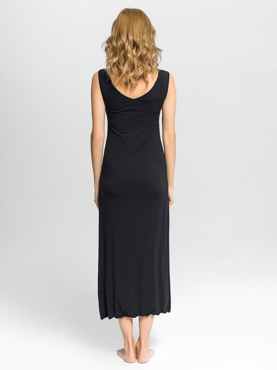 B46 Camicia da notte<br />01 Ivory, 02 Black, 07 Ruby, 63 Hyacinth